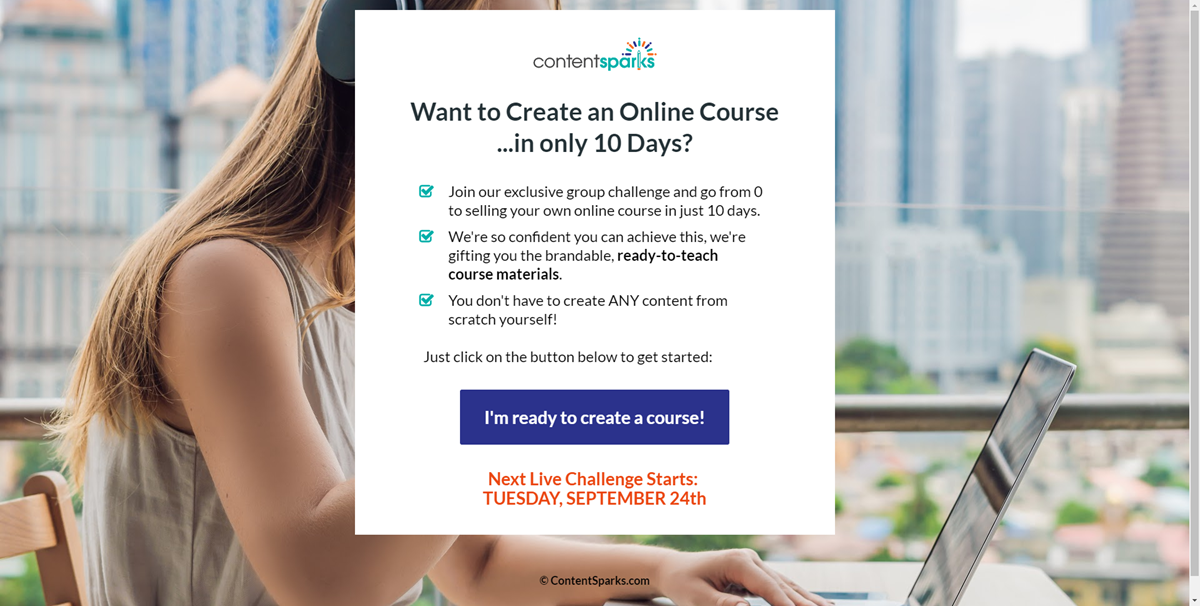 10 Day Online Course Challenge